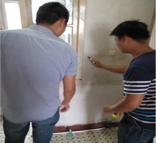 蘇州二手房裝修:二手房改造水電施工現場實拍