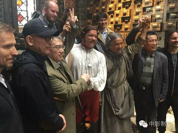 中国顶尖私人保镖博警特卫现身 中国游记片场