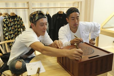 Edison Chen陈冠希先生、Kevin Poon 潘世亨先生