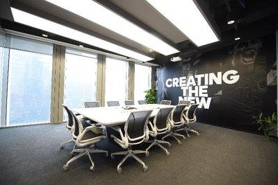 阿迪达斯广州办公室会议室