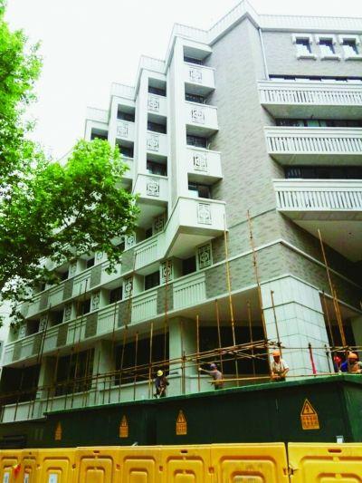 太平南路段南京第二建筑设计院外立面整治后