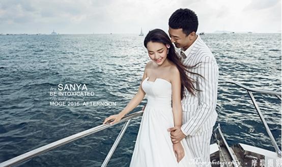 海南三亚婚纱摄影前十名排名哪家好古典造型如何摆