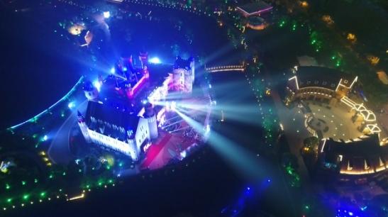 2017上海最美夜景就在安徒生童话乐园魔幻奇妙夜