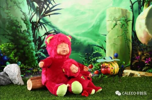 睡觉娃娃卡玲乐:愿君如月我如星,伴君一梦到天明。