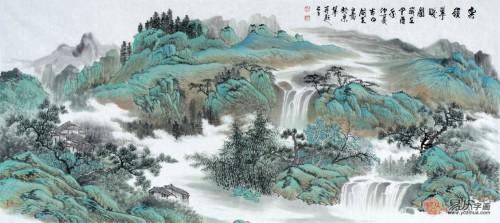 河南画家马国立很有名吗?他的字画有收藏价值吗?图片