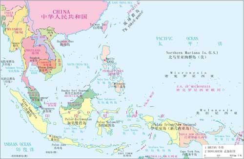 南海第一岛链地图