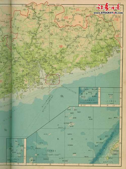 铁证!菲律宾旧地图证明黄岩岛属中国
