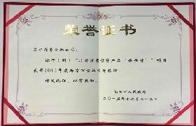 2015年度南京市金融创新奖