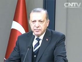 土耳其总统埃尔多安:期待扩大与中国合作