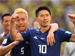 开场176秒造点球+红牌 日本2-1擒哥伦比亚