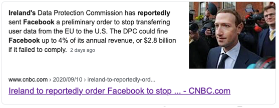 5万亿互联网巨头出大事!向美国传输用户数据,或被重罚近200亿!6天暴跌12%,7200亿灰飞烟灭!