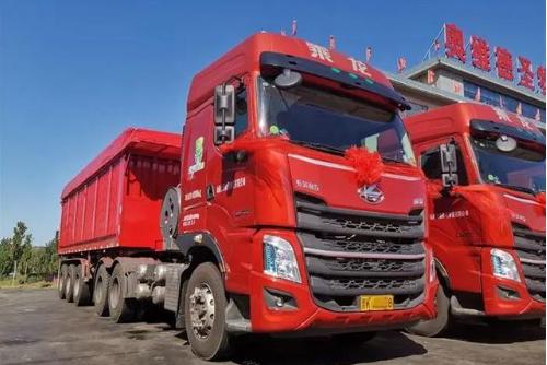 凭借科技、高效、可靠,20辆柳汽燃气车H7交付促进山西物流行业发展