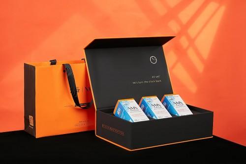 金达威3瓶装礼盒上新!或成高端商务礼新贵